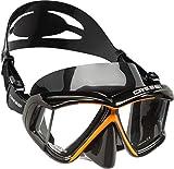 Cressi Panoramic 4 Wide Multi-Lens View Scuba/Snorkel Mask