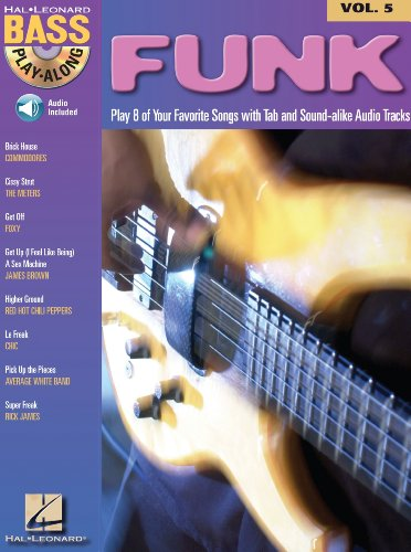 Funk (Songbook): Bass Play-Along Volume 5 (English Edition)