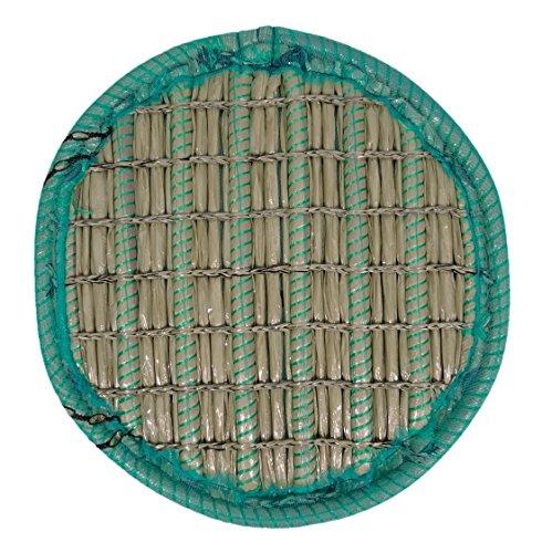 KOITEC Professional Pflanzinsel Teich, rund, schwimmend, 60cm – schöne Gartenteich-Atmosphäre mit Teichinsel, Pflanzkorb, Pflanzschale – Reduzierung von Algen & Ruhezone für Koi durch Pflanzeninsel