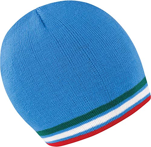 Bonnet Supporter - Blue/Green/White/Red, One Size, Unisexe
