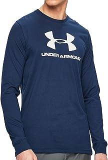 قميص رجالي بأكمام طويلة بشعار Under Armour