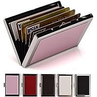 Eastnights RFID Credit Card Holder Metal Wallets (Multiple Colors)
