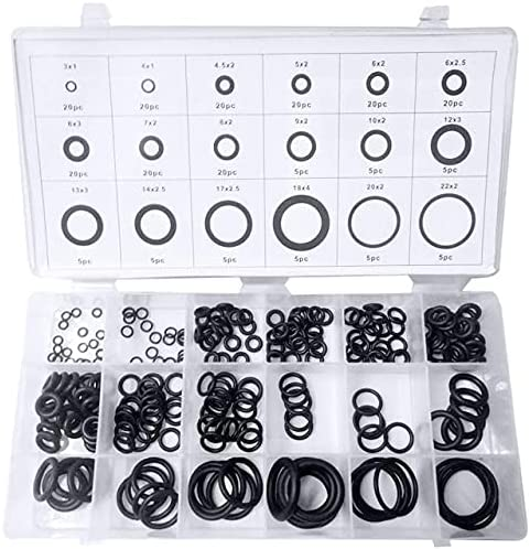 Vivona Brand new Gaskets 225 pcs Rubber O Waterti Ring Daily bargain sale O-Ring Seals Washer