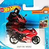 Hot~Wheels Ducati 1199 Panigale - Bike / Motorrad - 1:64 - Farbe: Basic Red