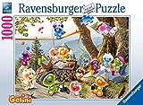 RAVENSBURGER PUZZLE- Bij de Picknick (Gelini) Ravensburger 16750-Puzzle (1000 Piezas), diseño de Picnic, Color mar. (16750)