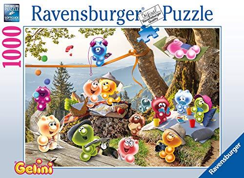 Ravensburger Puzzle 16750 - Gelini: Auf zum Picknick - 1000 Teile Puzzle für Erwachsene und Kinder ab 14 Jahren