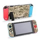 Grunge Military Badges 防砕けて Nintendo Switch 対応 カバー、switch 対応 カバーラウンドなシリコーン保護カバー 任天堂スイッチ カバー 対応 アクセサリ