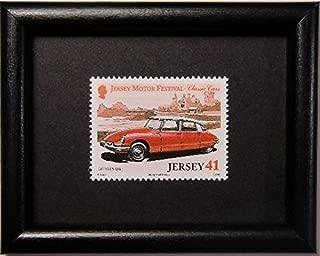 Citroen DS Classic Cars -Framed Postage Stamp Art 11215