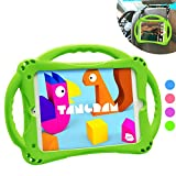 TopEsct Kids Case for iPad Mini 5 4 3 2 1,Silicone Childproof for All Kinds of iPad Mini, Built-in Handle Stand, Comes with a Strap. (Green)