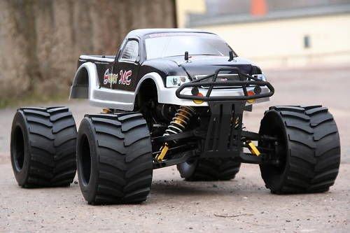 XT-Racing RC MEGA Monster Truck 1:4 4X4 RTR 35ccm 4PS 80Km/h VERBRENNER 1:5 NEUHEIT