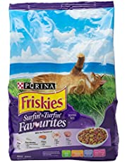 Purina Friskies Surfin Favourites Dry Cat Food 1.2kg