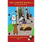 Five Chapter Books 2: Systematic Decodable Books for Phonics Readers and Folks with a Dyslexic Learning Style (DOG ON A LOG Chapter Book Collection)
