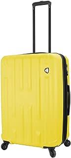 "Mia Toro M1230-24in-ylw Italy Nuovo Hardside 24"" Spinner, Yellow (Yellow) - M1230-24IN-YLW"