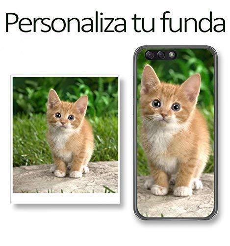 Tumundosmartphone Personaliza TU Funda Gel con TU FOTOGRAFIA para Huawei Mate 10 Lite Dibujo Personalizada