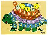 Andreu Toys - Encaje tortuga, 37 piezas, de madera (16243.0) , color/modelo surtido
