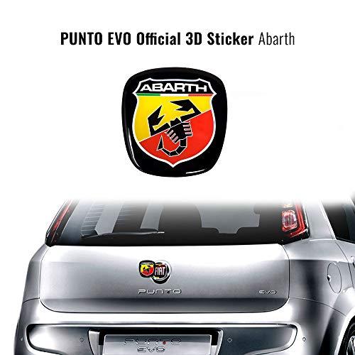 Abarth 32029 - Adhesivo 3D de Repuesto para Fiat Punto EVO