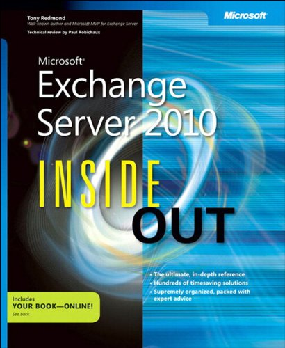 Microsoft Exchange Server 2010 Inside Out (English Edition)