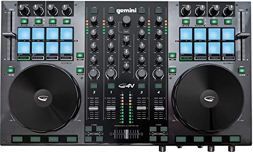 Gemini G4V - DJ Controller inkl. Virtual DJ LE