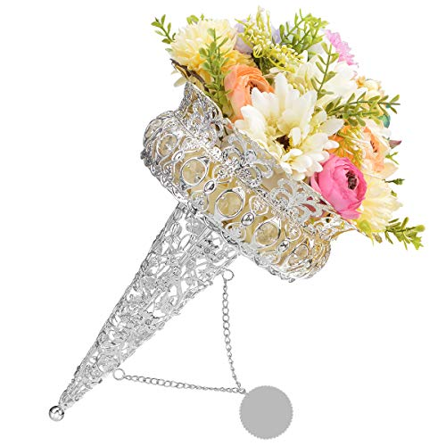 Boujean Bouquet Holder Wedding Bouquet Holder Handles for Bouquets Bridal Bouquet Holders Flower Bouquet Holders, Perfect for Wedding Parties, Formals, Anniversary and More(Princess)