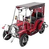 Vehículo Vintage Decoración del hogar Antigüedades y coleccionables Vehículo Retro Hierro rojo Modelo de motocicleta Escritorio para el hogar Decoración de oficina