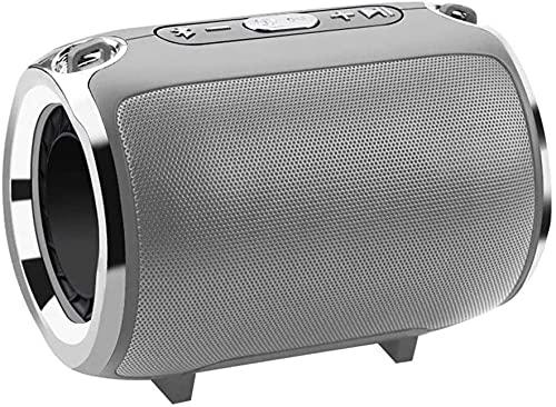 Altavoz estéreo inalámbrico Bluetooth portátil trastes altavoz subwoofer HiFi portátil Boombox soporte FM radio TF AUX USB