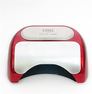 KDLD Secadores de Uñas ® 48W Gel Nail Curing Light LED lámpara UV Nail Art Polish Machine con sensor automático, adecuado para las manos o los pies