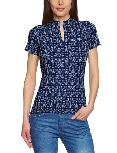 Maloja Damen Bike Shirt 1/2 Sajamam, Cobalt, M, 15112
