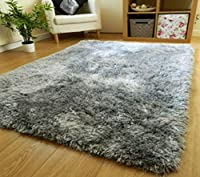 Plush, cozy, versatile designer shag style allows for endless decorating options all size Now available in all colour Power-loomed with soft, thick, polypropylene fibers to ensure a durable, long-lasting, and virtually non-shedding rug Extra thick 2-...