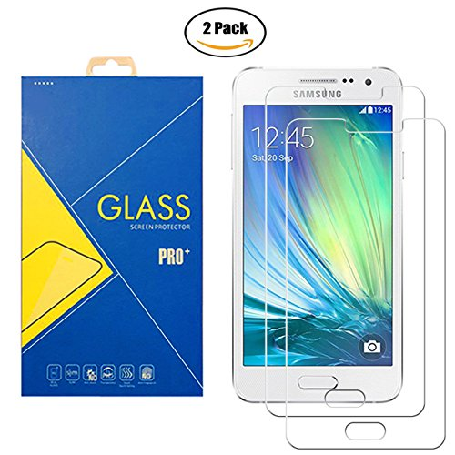 [2-pak ] pantserglasfolie Samsung Galaxy A3 (2015) SM-A300 / A300F / A300H / A300G / A300FU / A300FD / A300HD - krasbestendig display