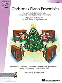 Christmas Piano Ensembles Level 2: Hal Leonard Student Piano Library
