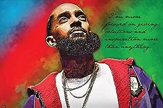 Famous Rap Celebrity Quote Poster Inspirational Motivational 24x36