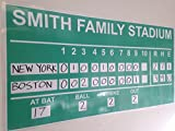 Copy King Large Dry Erase Custom Baseball Scoreboard 2ft x 4ft