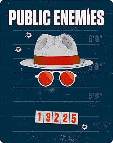 Public Enemies - Exklusiv Limited Futurepak (ähnl. Steelbook) (Region Free) - Blu-ray