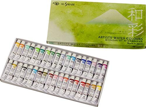 Kusakabe Expert for Watercolor Paint Set Sum Saturation NW-36