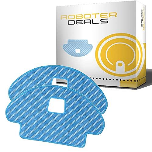 Almohadillas de microfibra (2 unidades) para Ecovacs Deebot OZMO 930 (D-CC3C)