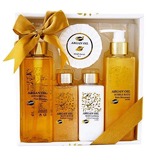 GLoss - Coffret De Bain Pour Femme - Collection Luxury Argan Oil - Huile Argan
