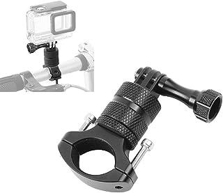 comprar comparacion Hensych Soporte de bicicleta de aleación de aluminio para manillar de motocicleta, rotación de 360 grados, soporte de meta...