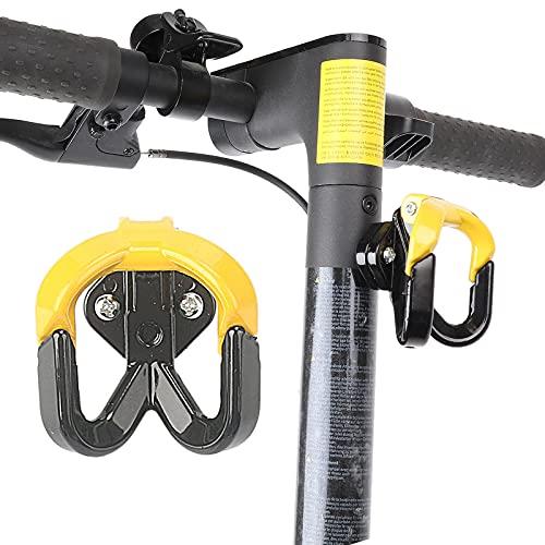 Tmom Roller - Gancho frontal para guardar, sólido, para M365 / M365 Pro, aluminio, robusto, color amarillo + soporte