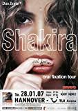 Shakira - Oral Fixation, Hannover 2007 »