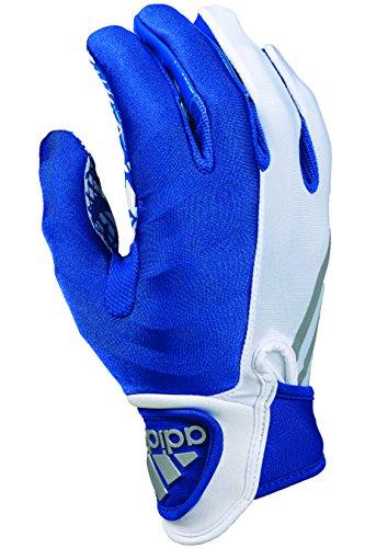 adidas Crazyquick 3, Receiver American Football Handschuhe, weiß/royal L