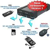 XCarLink 2 USB SD MP3 AUX Adapter - Mazda 2 3 5 6 Miata MX5 MPV RX8 CX7 Premacy