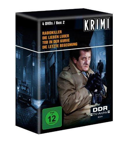 Krimi-Box 2 - DDR TV-Archiv (Radiokiller - Die lieben Luder - Tod in der Kurve - Die letzte Begegnung) [4 DVDs]
