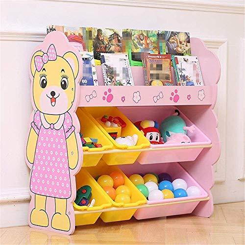 Shoe rack Organizador de libros y juguetes duraderos - para organizar el almacenamiento de juguetes Juguetes para bebés Juguetes para niños Juguetes para perros Ropa para bebés Libros para niños Muebl
