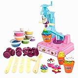 LAMEIDA Knetmasse Modelliermasse Kinderspielzeug Spielzeug pädagogisch für Kinder Kleinkinder Babys EIS Keks Kuchen Size 37*6.3*27.5cm (Mehrfarbig)