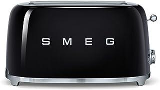 Smeg TSF02BLEU Grille-pain, Métal, Black