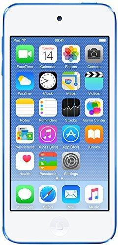 Apple iPod Touch, 32GB, Blue (6th Generation) (Renewed)