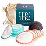 MyMe Beauty Reusable Makeup Remover Pads丨21 Eco-Friendly Bamboo Pads - 2 Textures And 2 Sizes For All Skin Types丨Cotton… 2