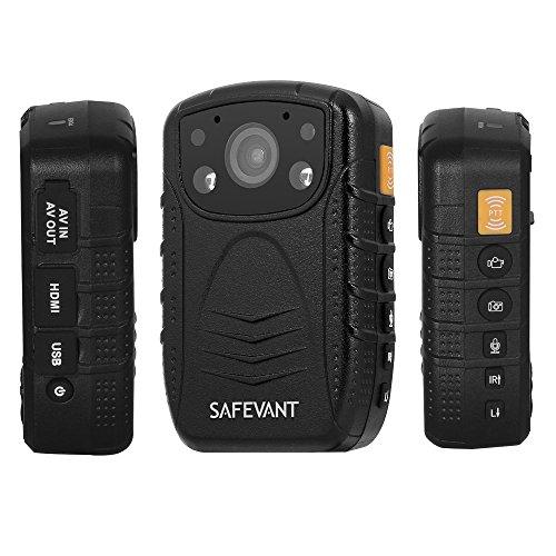 SAFEVANT 1296P HD Police Body Camera