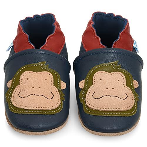 Zapatillas Bebe Niño - Zapato Bebe Niño - Zapatos Bebes - Calzados Bebe Niño - Gorila Azul - 12-18 Meses