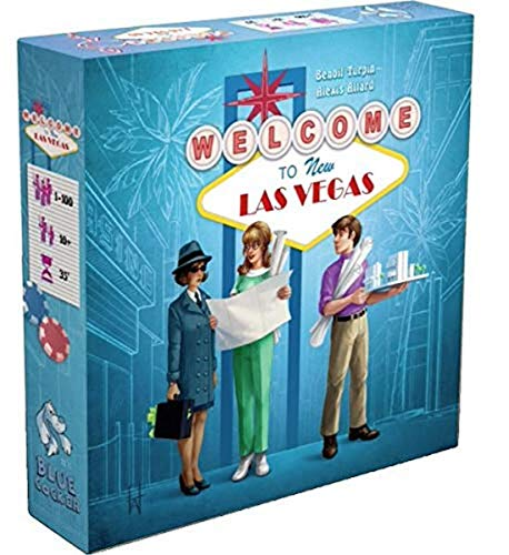 Welcome to New Las Vegas Board Game [UK-Import]